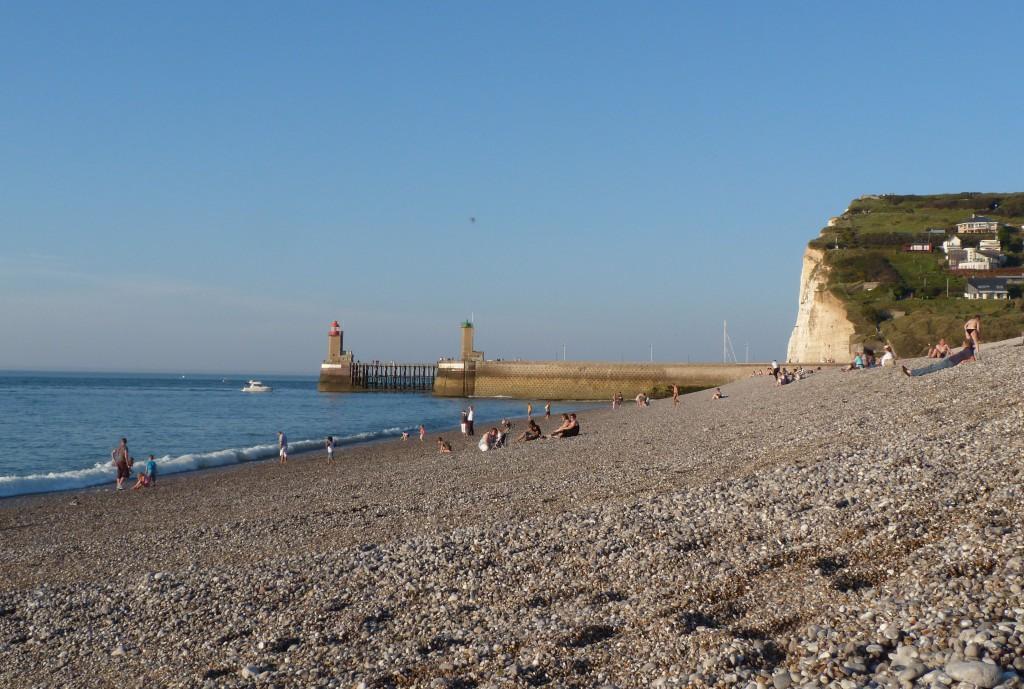 F camp plage vacances arts guides voyages for Piscine de fecamp