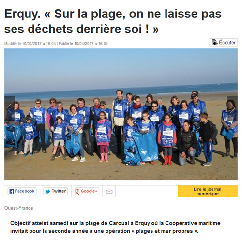 Ouest France Erquy